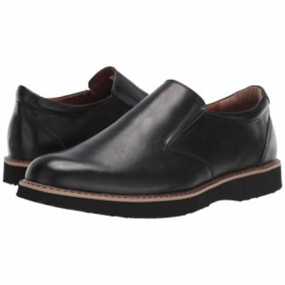 ディール スタッグス Deer Stags メンズ スリッポン・フラット シューズ・靴 Walkmaster Twin Gore Slip-On Black
