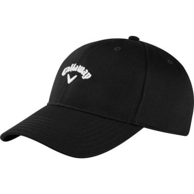 キャロウェイ Callaway メンズ キャップ 帽子 Stretch Fitted Hat Black/White