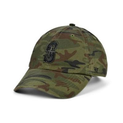 47ブランド メンズ 帽子 アクセサリー Seattle Mariners Regiment CLEAN UP Cap Gray