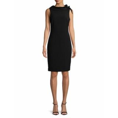 バッジリーミシュカ レディース ワンピース Sleeveless Collar Sheath Dress