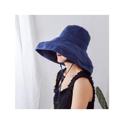 夏女大きなつば太陽帽子日焼け止め漁師の帽子WSXB66