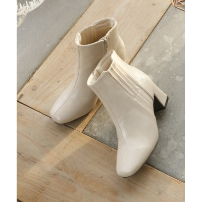 ブーツ シークレットサイドゴアショートブーツ