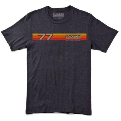 スパルコ Tシャツ RALLY ブラック Sparco