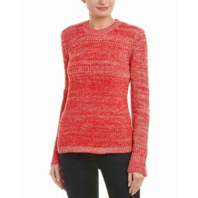 Derek Lam デレクラム ファッション トップス Derek Lam 10 Crosby Bi-Color Wool Sweater M Red