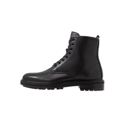 アルド ブーツ&レインブーツ メンズ シューズ ABIMETH - Lace-up ankle boots - black