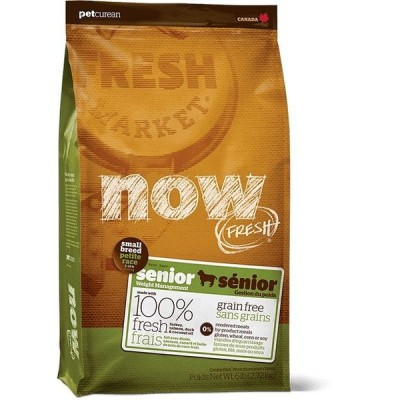 NOW FRESH ナウフレッシュ  スモールブリード シニア&ウェイトマネジメント 2.72kg おまけつき