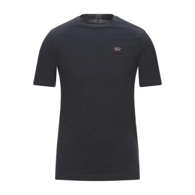 ポール・アンド・シャーク PAUL & SHARK T シャツ ブラック S コットン 100% T シャツ