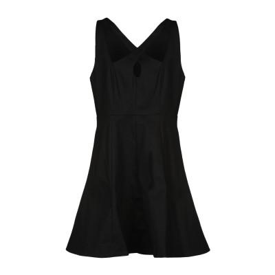 ホルストン・ヘリテージ HALSTON ミニワンピース&ドレス ブラック 4 コットン 97% / ポリウレタン 3% ミニワンピース&ドレス