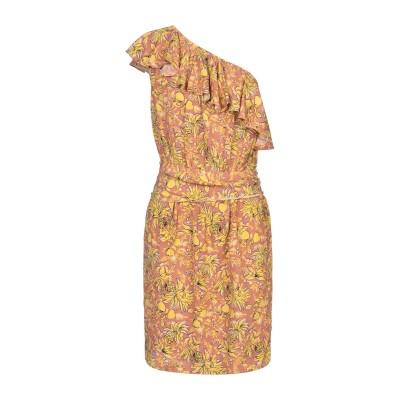 VANESSA BRUNO ミニワンピース&ドレス イエロー 38 レーヨン 100% ミニワンピース&ドレス