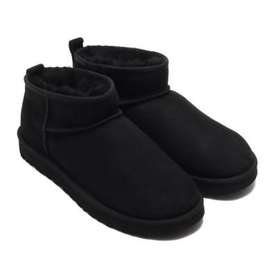 アグ UGG ブーツ クラシック ウルトラ ミニ (BLACK) 20FW-I