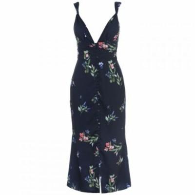 キープセイク Keepsake レディース ワンピース ワンピース・ドレス Glory Midi Dress Navy floral