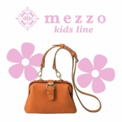 メゾ 革 バッグ お子様のための小さ目サイズ。キュートな見た目とレトロな風合いの上質なキ