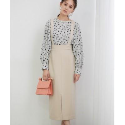 ViS / 【TV着用】サスペンダー付きタイトスカート WOMEN スカート > スカート