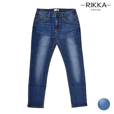 RIKKA FEMME リッカファム Stretch Denim Pants ストレッチデニムパンツ R20S128 レディース ロングパンツ HH2 F29