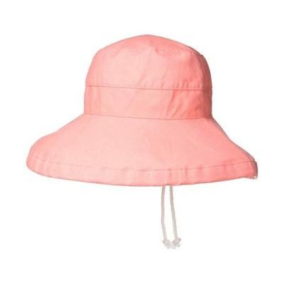 スカラ LC399 GIANA BASIC ジアナ ベーシック レディース 帽子 ハット UVカット サーモン 日本 56-60cm (FR
