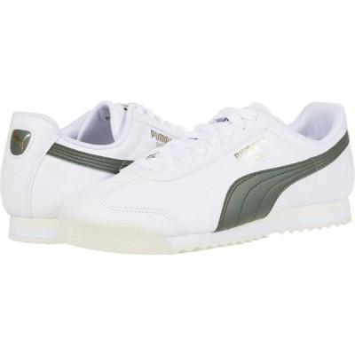 プーマ PUMA メンズ シューズ・靴 Roma Basic + PUMA White/Thyme