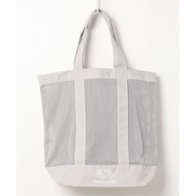 NO WAY / 【W】【FRUIT OF THE LOOM】FTL NET ST TOTE BAG MEN バッグ > トートバッグ