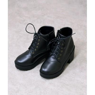 NOFALL sango / 厚底ショートブーツ WOMEN シューズ > ブーツ