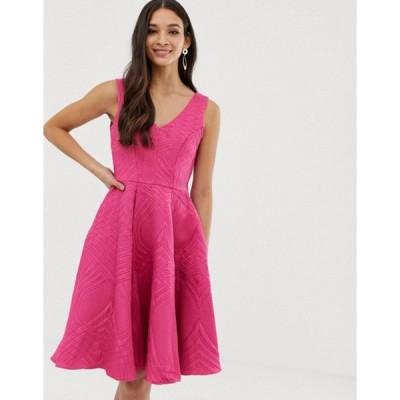 クローゼットロンドン レディース ワンピース トップス Closet full skirt lined dress