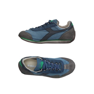 DIADORA HERITAGE スニーカー&テニスシューズ(ローカット) グレー 3 革 / 紡績繊維 スニーカー&テニスシューズ(ローカット)