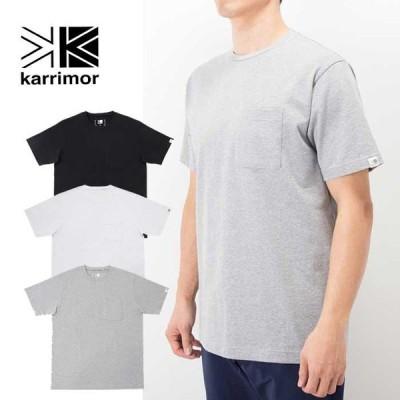 カリマー Tシャツ 半袖 Karrimor POCKET WIDE TEE ポケットワイドT 101043 半袖Tシャツ メール便 0330