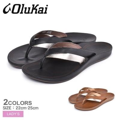 ビーチサンダル レディース ハワイ カエカエ KAEKAE 20374 トング 靴 おしゃれ OLUKAI オルカイ リゾート ブランド