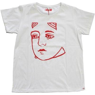 OK オーケー 刺繍Tシャツ WHT/QUEEN