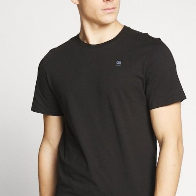 ジースター メンズ ファッション Basic T-shirt - black