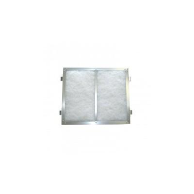 代引・同梱不可 ll 東洋機械 不織布 レンジフードフィルター 小型・浅型レンジフード 磁石タイプ 25.0×30.0 取付用枠1枚+フィルター1枚