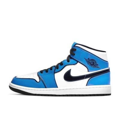ナイキ エアジョーダン 1 ミッド SE シグナルブルー 32cm Nike Air Jordan 1 Mid SE  Signal Blue DD6834-402 安心の本物鑑定