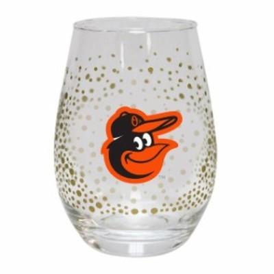The Memory Company ザ メモリー カンパニー スポーツ用品  Baltimore Orioles Glitter Stemless Tumbler