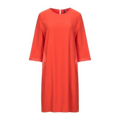 マニラ グレース MANILA GRACE ミニワンピース&ドレス オレンジ 40 レーヨン 100% ミニワンピース&ドレス