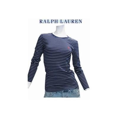 Ralph Lauren Sport ラルフローレンスポーツ ボーダー長袖Tシャツ(Navy×White) ☆【ネコポス便可】※配達日時はできません