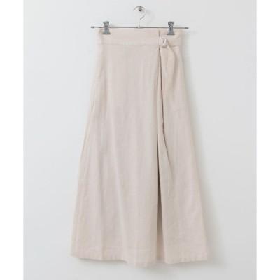 スカート ラップスカート