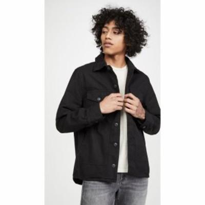 セーブカーキユナイテッド Save Khaki メンズ ジャケット シャツジャケット アウター field shirt jacket Black