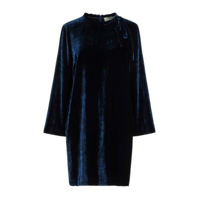 ロートレ ショーズ L' AUTRE CHOSE ミニワンピース&ドレス ダークブルー 40 82% レーヨン 18% シルク ミニワンピース&ドレス