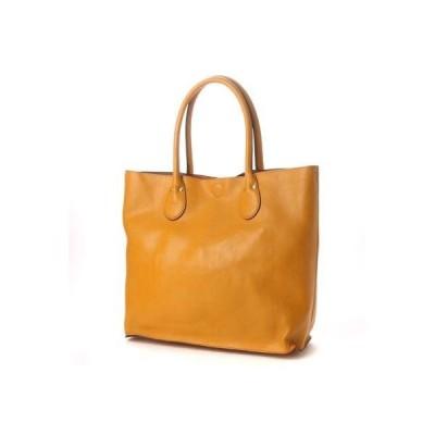 オティアス Otias 2WAYシュリンクレザータイプ合皮トートバッグ/取り外し可能なバッグインバッグ付き (MU)
