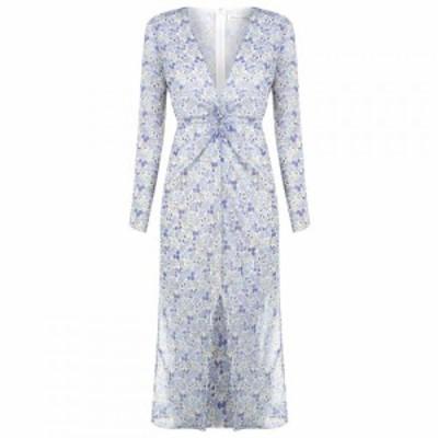 イーストオーダー The East Order レディース ワンピース ワンピース・ドレス EO Serena Midi Dress AMAZON AZURE