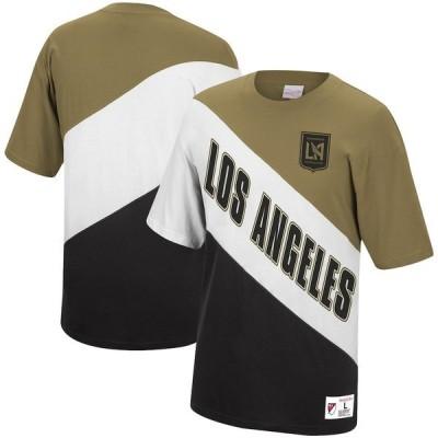 ミッチェル&ネス メンズ Tシャツ トップス LAFC Mitchell & Ness Play By Play T-Shirt Gold/Black