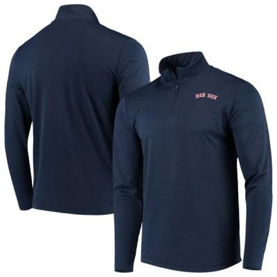 ボストン・レッドソックス Nike Intensity Performance Quarter-Zip Pullover ジャケット - Navy
