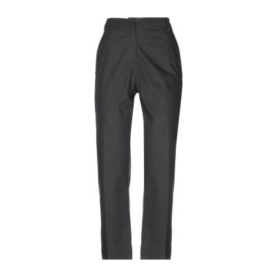 SUOLI パンツ ブラック 44 コットン 100% パンツ