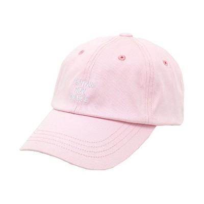 ポルカポルカ キャップ 刺繍 ローキャップ ピンク Free
