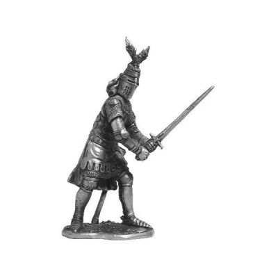Sir Oliver d'Ingram (England) Tin Soldiers Metal Sculpture Miniature Figure Collection 54mm (Scale 1/32) (M78)[並行輸入品]