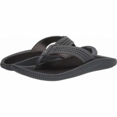 オルカイ OluKai メンズ シューズ・靴 Ulele Dark Shadow/Black