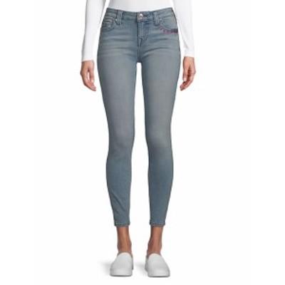 トゥルー リリジョン レディース パンツ デニム Embroidered Logo Skinny Jeans
