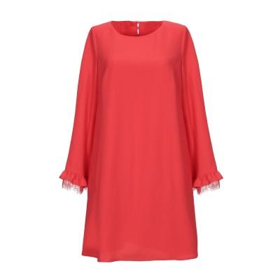 SCEE by TWINSET ミニワンピース&ドレス コーラル XS ポリエステル 100% ミニワンピース&ドレス