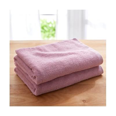 Dailycolor  バスタオル同色2枚セット バスタオル, Towels(ニッセン、nissen)