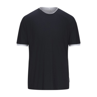 パオロ ペコラ PAOLO PECORA T シャツ ダークブルー XXL コットン 100% T シャツ