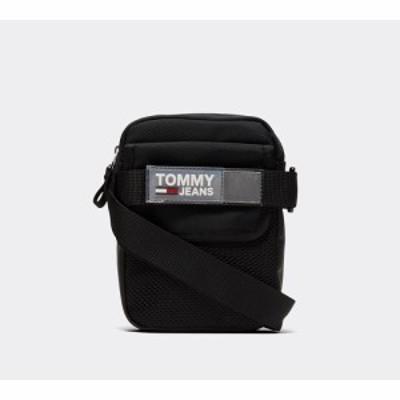 トミー ジーンズ Tommy Jeans メンズ バッグ urban reporter bag Black/Grey