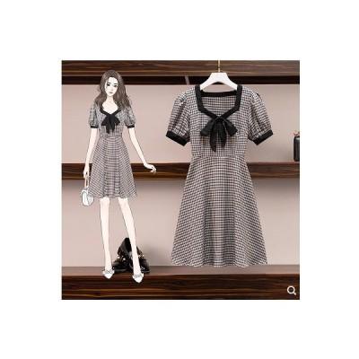 大きいサイズ L-4XL 春夏新作 ファッション 人気ワンピース